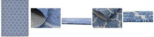 Bridgeport Home Pashio Pas5 Navy Blue Area Rug Collection