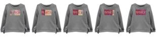 Carter's Little & Big Girls Flip-Sequin Dance Fleece Sweatshirt