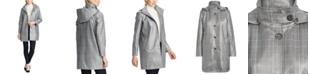 Lauren Ralph Lauren Plaid-Print Trench Coat