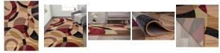 "Main Street Rugs Home Montane Mon105 Multi 5'3"" x 7'3"" Area Rug"