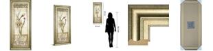 "Classy Art Fiorindo Vita II by Douglas Framed Print Wall Art, 18"" x 42"""