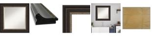 "Amanti Art Impact Framed Bathroom Vanity Wall Mirror, 26.25"" x 26.25"""