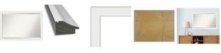 "Amanti Art Vanity Framed Bathroom Vanity Wall Mirror, 39.38"" x 27.38"""