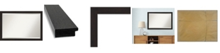 "Amanti Art Furniture Framed Bathroom Vanity Wall Mirror, 39.5"" x 27.50"""