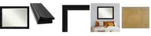 "Amanti Art Grand Framed Bathroom Vanity Wall Mirror, 45.75"" x 35.75"""
