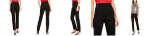 INC International Concepts I.N.C. Curvy-Fit Straight-Leg Pants, Created For Macy's