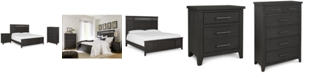 Furniture Burbank Bedroom Furniture, 3-Pc. Set (California King Bed, Nightstand & Chest)