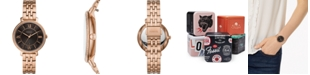 Fossil Women's Jacqueline Rose Gold-Tone Stainless Steel Bracelet Watch 36mm