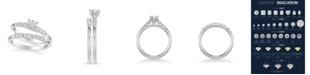 Macy's Diamond Twist Bridal Set (7/8 ct. t.w.) in 14k White, Yellow or Rose Gold