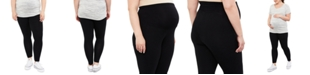 Motherhood Maternity Plus Size Basic Leggings