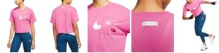 Nike Icon Clash Dri-FIT Cropped T-Shirt