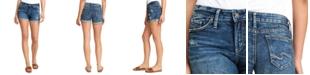 Silver Jeans Co. Suki Ripped Denim Shorts