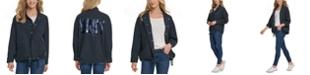 DKNY Jeans Sequin-Logo Utility Jacket