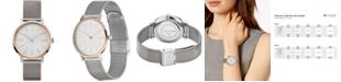 Lacoste Women's Moon Two-Tone Stainless Steel Mesh Bracelet Watch 35mm