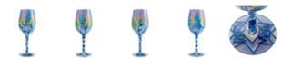 Enesco LOLITA New York Nights Wine Glass