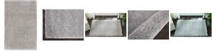 "Long Street Looms Cali Shag CAL01 Silver 2'6"" x 4' Area Rug"