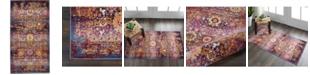 Long Street Looms Era Tabriz ERA03 Red, Multi 2' x 4' Area Rug