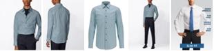 Hugo Boss BOSS Men's Jango Open Green Shirt