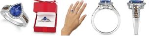 Le Vian Blueberry Tanzanite (2 ct. t.w.) & Diamond (5/8 ct. t.w.) Ring in 14k White Gold