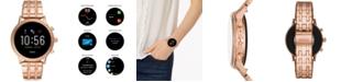 Fossil Tech Gen 5 Julianna HR Rose Gold Bracelet Smart Watch 44mm, Powered by Wear OS by Google