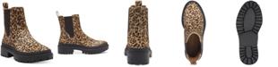 Lucky Brand Women's Emali Lug-Sole Booties