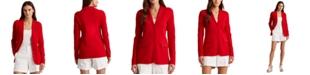Lauren Ralph Lauren Combed Cotton-Blend Blazer