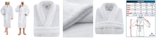 American Soft Linen Men's and Women's Luxury Hotel Spa Warm Shawl Collar Soft Plush Fleece Bath Robe