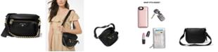 Michael Kors Slater Sling Pack Leather Messenger