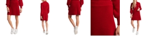 Riley & Rae Margaux Ribbed Sweater Skirt, Created for Macy's