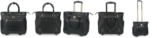 """Kenneth Cole Reaction """"Call It Off 16"""" Rolling Business Tote And Carry-On Bag"""