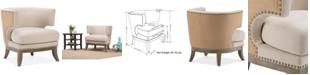 Simpli Home Kaline Accent Chair