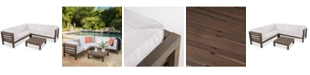 Furniture Edwena 4-Pc. Sectional, Quick Ship