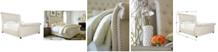 Furniture Taylor Upholstered King Bed
