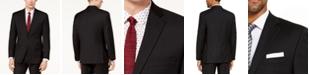 Michael Kors Men's Classic-Fit Airsoft Stretch Black Solid Suit Jacket