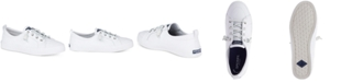 Sperry Women's Crest Vibe Leather Sneakers, Created for Macy's