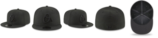 New Era Baltimore Orioles Blackout 59FIFTY FITTED Cap