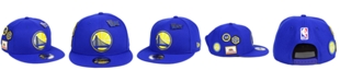New Era Golden State Warriors On-Court Collection 9FIFTY Snapback Cap