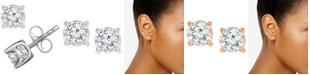 TruMiracle Diamond Stud Earrings (1/2 ct. t.w.)