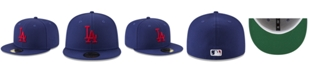 New Era Los Angeles Dodgers Batting Practice Wool Flip 59FIFTY Fitted Cap