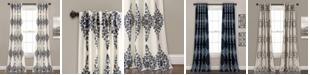 """Lush Decor Keya Medallion 52"""" x 84"""" Curtain Set"""