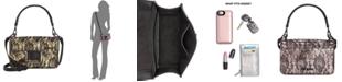 Steve Madden Christy Lace Overlay Top Handle Crossbody