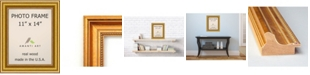 """Amanti Art Townhouse Gold 11"""" X 14"""" Opening Wall Picture Photo Frame"""