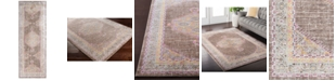 "Surya Germili GER-2316 Bright Pink 2'11"" x 7'10"" Runner Area Rug"