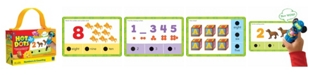Learning Resources Educational Insights Hot Dots Jr Numbers And Counting Card Set