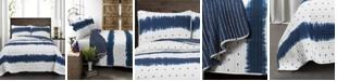 Lush Decor Jane Shibori 3-Pc. Quilt Sets
