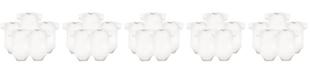 Hudson Baby Bodysuits, 5-Pack, White, 0-24 Months
