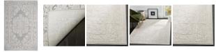 "Safavieh Reflection Light Gray and Cream 5'1"" x 7'6"" Area Rug"