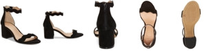 INC International Concepts I.N.C. Women's Hadwin Scallop Two-Piece Sandals, Created for Macy's