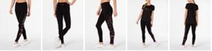 Calvin Klein Printed-Logo High-Waist Leggings