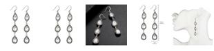 Nicole Miller 3 Teardrop Earring